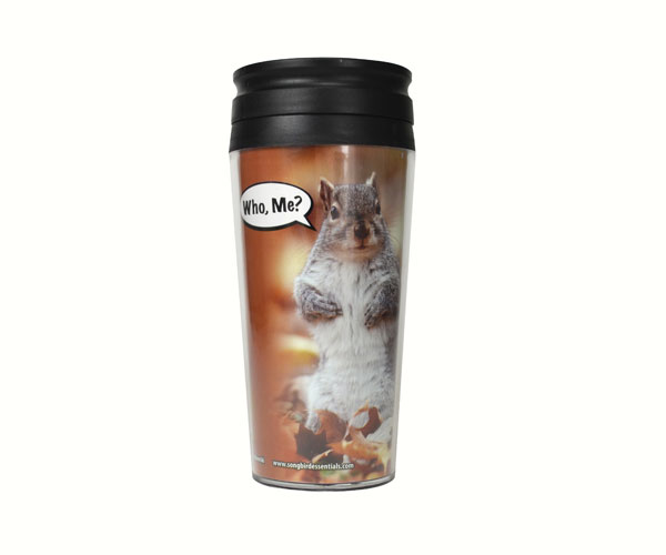 Poly Thermal Mug Who Me? SEEK7607'