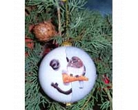 Ornament, Nosey Junco-SEEK9607