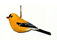 Gold Finch Ornament SEFWC102
