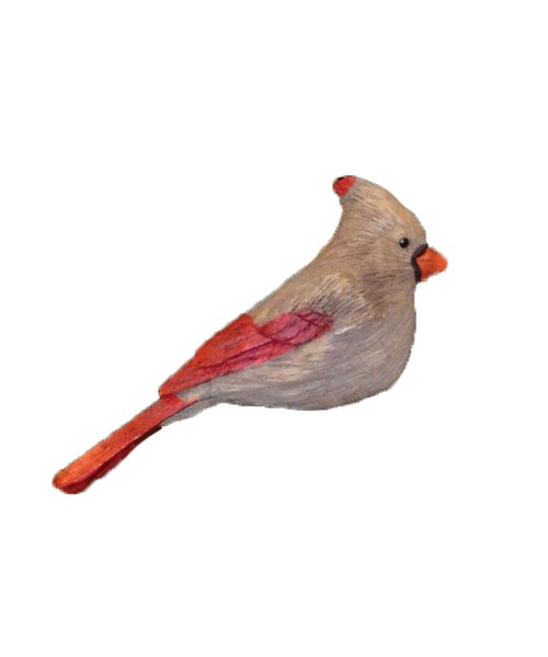 Lady Cardinal Ornament SEFWC108