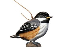 Baby Chickadee Ornament-SEFWC112