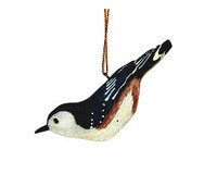 Nuthatch Ornament-SEFWC116