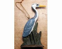 Heron and Grass Ornament-SEFWC146