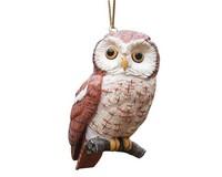 Screech Owl Ornament-SEFWC161