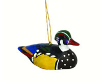 Woodduck Decoy Ornament-SEFWC168