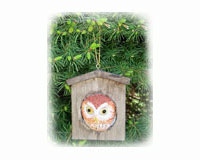 Owl House Ornament-SEFWC176