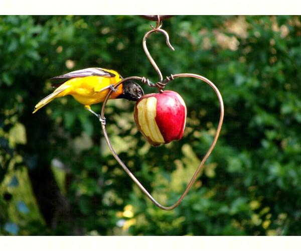 Heart Fruit Feeder