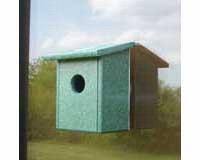 Recycled Plastic Window Nest View Bird House SERUB78162