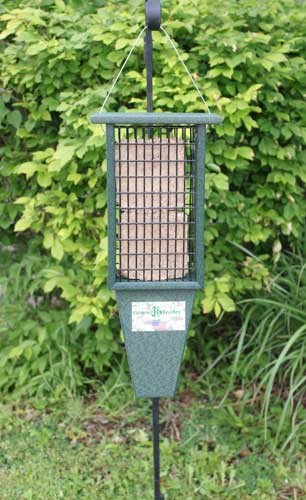 Double Suet Feeder Green SERUBDSF200H'