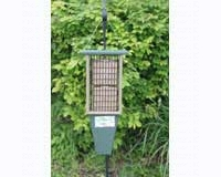 Double Suet Feeder Hunter Green Driftwood-SERUBDSF200HD