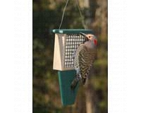 Suet Feeder with Tail Prop Hunter Driftwood-SERUBSF100HD