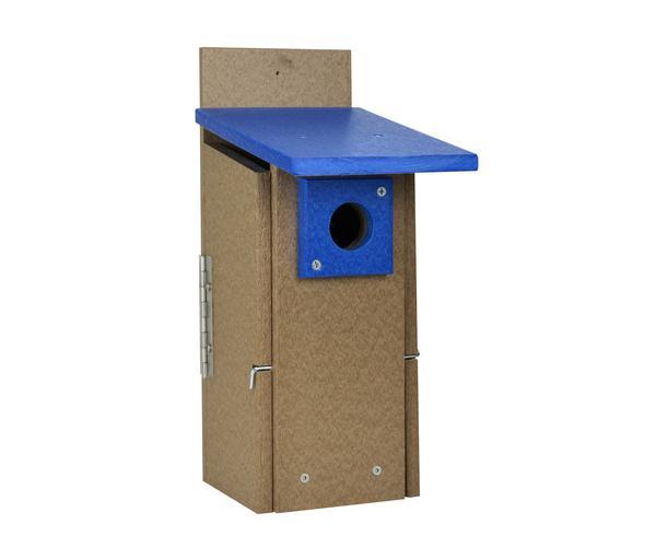 Recycled  Plastic Ultimate BlueBird House SERUBUBH