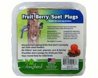 Songbird Suet Plugs Fruit and Nut-SESC107