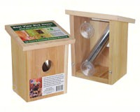 Nest View Bird House with Window Film SESC78162WF