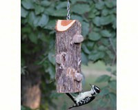 3 Plug Suet Log Without Perches-SESCS408