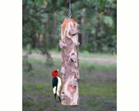 6 Plug Suet Log Without Perches-SESCS411
