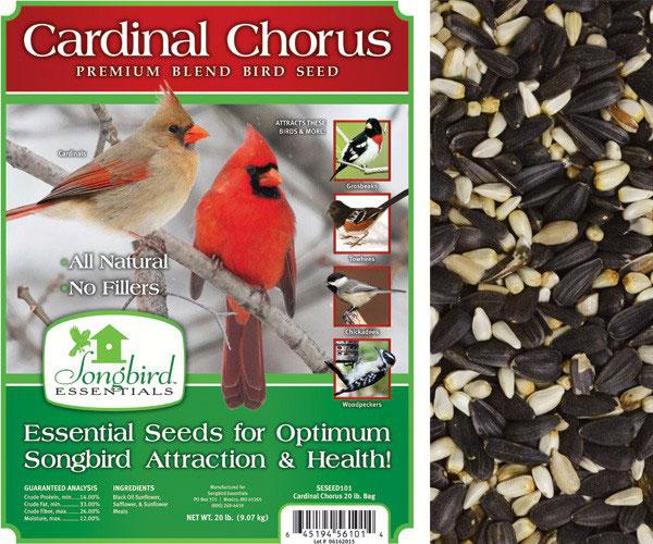 Cardinal Chorus, 20 lb. + FREIGHT SESEED101GC'