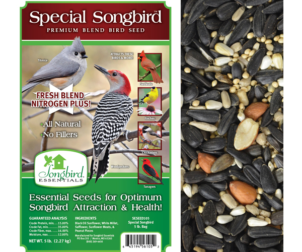Special Songbird, 5 lb. + FREIGHT SESEED105GC'