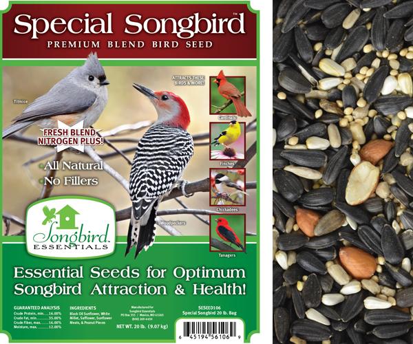 Special Songbird, 20 lb. + FREIGHT