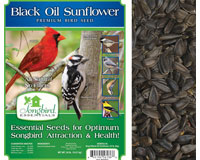 Songbird Black Oil, 20 lb. NF + FREIGHT-SESEED136GC