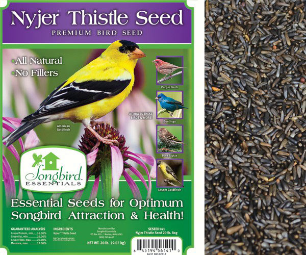 Nyjer/Thistle Seed, 5 lb. + FREIGHT