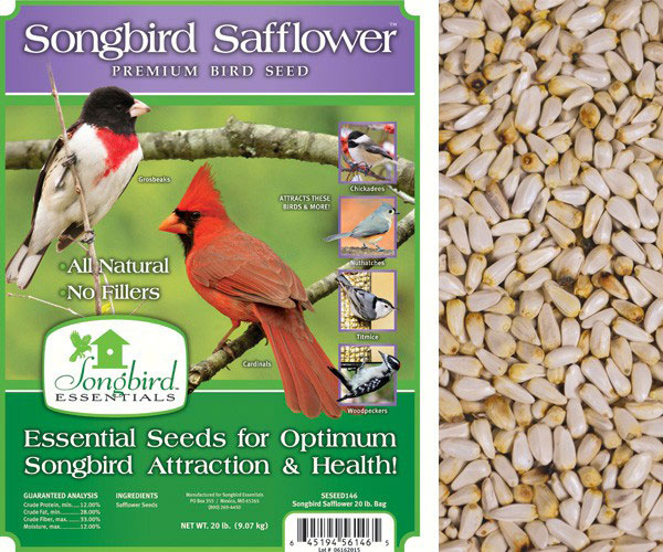 Songbird Safflower, 40 lb. + FREIGHT