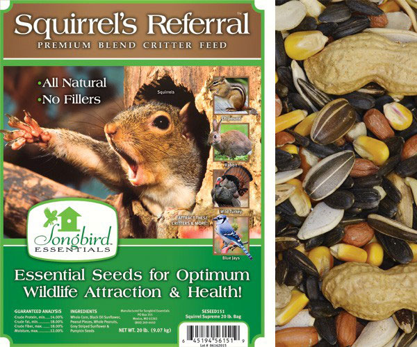 Squirrel's Referral, 20 lb. + FREIGHT
