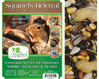 Squirrel's Referral, 20 lb. + FREIGHT-SESEED151GC