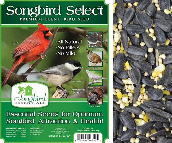 SONGBIRD SELECT 40 LB + FREIGHT