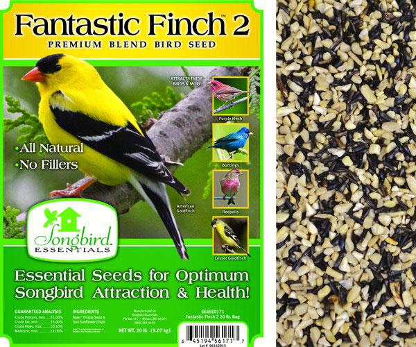 FANTASTIC FINCH 2, 5 LB + FREIGHT
