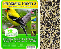 FANTASTIC FINCH 2, 5 LB + FREIGHT-SESEED170GC