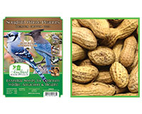 SONGBIRD WHOLE PEANUTS, 15 LB + FREIGHT-SESEED186GC