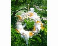 Nesting Material Wreath SEWF91008