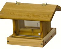 Small Hanging Hopper Feeder withPlastic Floor-SP1FP