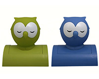 Owl Tap-On Nightlight Assorted Colors-STREAMBUL656