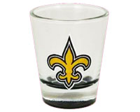New Orleans Saint Highlight Bottom Shot Glass-MC100302NOSAINT