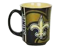 New Orleans Saints 11oz Reflective Mug-MC1679NOSAINTS