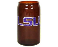 LSU Tigers 16 oz Retro Amber Glass Can-MC190604LSUTIG