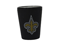 New Orleans Saints Black Matte Shot Glass-MC300102NOSAINT