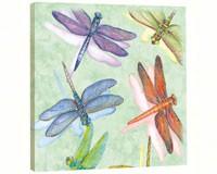 Dragonflies Art Plaque-TFG85500