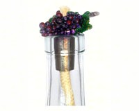 Grapevine Pewter Flat Winelight Painted-VCWLPGVFP
