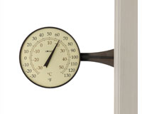 Large Dial Thermometer Bronze Patina Finish-CCBT10BP