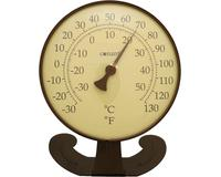 Convertible Classic Large 10 inch Dial Thermometer Bronze Patina-CCBT10CLASSIC