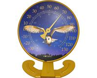 Convertible Barn Owl Large 10 inch Dial Thermometer-CCBT10OWL