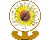 Convertible Sunflower Large 10 inch Dial Thermometer-CCBT10SUNFLOWER