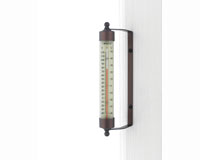 Indoor Outdoor Thermometer Bronze Patina Finish-CCBT1BP