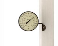 Dial Thermometer Bronze Patina Finish-CCBT6BP