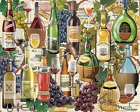 Wine Country 1000 piece Puzzle-WHITE798