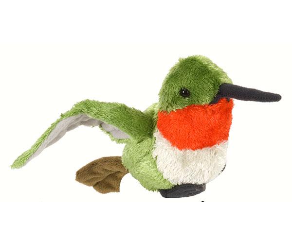 Ruby-throated Hummingbird 8 inch