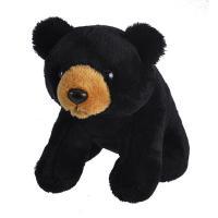 Plush Lil Kins Black Bear-WR18114